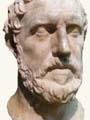 Bust of Thucydides residing in the Royal Ontario Museum, Toronto.