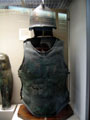 Greek Bronze Chest and Helmet Armour